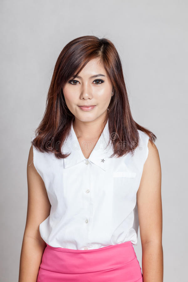 Belle fille asiatique photos stock