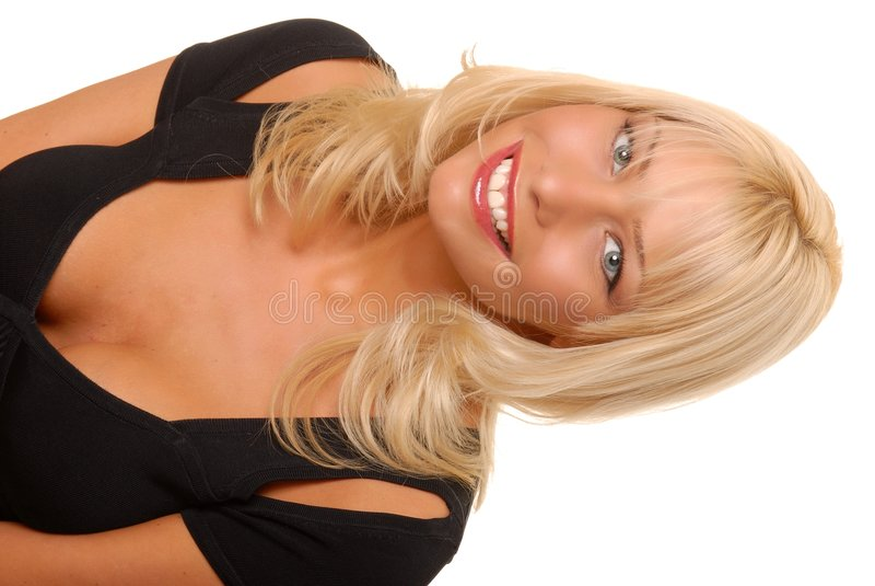 Belle fille blonde images libres de droits