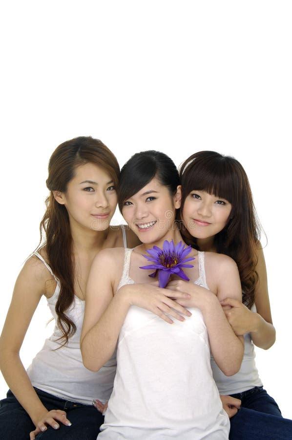 belle fille de l'Asie image stock