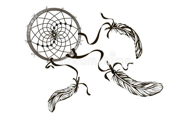 Belle fille de mode avec les cheveux abstraits Livre de coloriage pour l'ADU illustration de vecteur