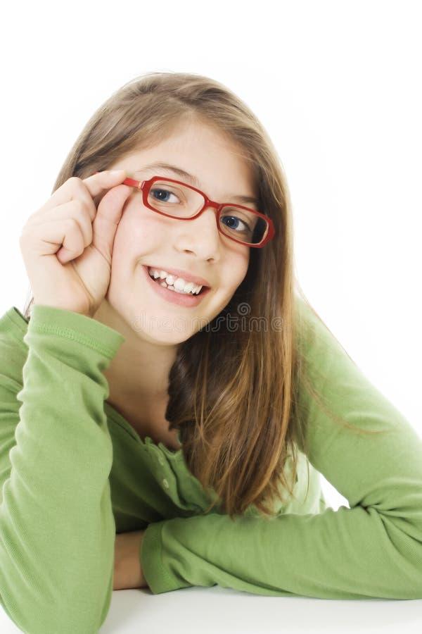 Belle fille de sourire images libres de droits