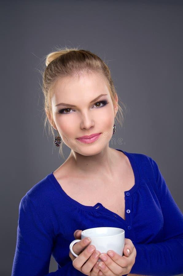 Belle fille de verticale photos libres de droits
