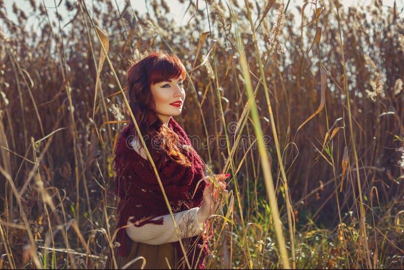 Download Belle Fille Dehors Dans La Campagne Image stock - Image du beauté, outside: 76081979