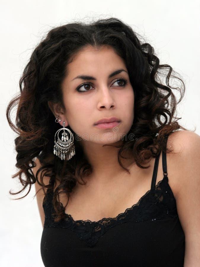 Belle fille du Moyen-Orient images stock