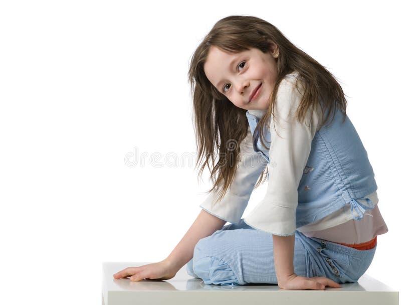 belle fille peu de verticale photographie stock libre de droits