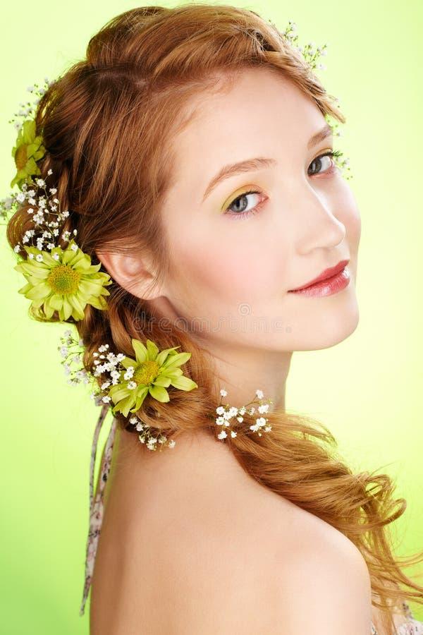 Belle fille rousse images libres de droits
