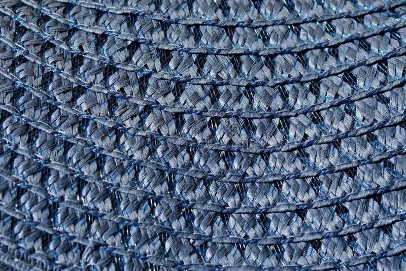 Belle fin bleue en osier de fond  images libres de droits