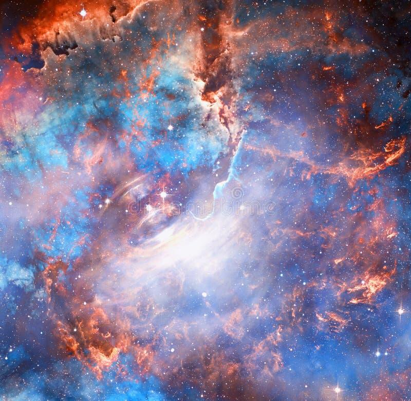 Belle galaxie Éléments de cette image meublés par la NASA illustration stock