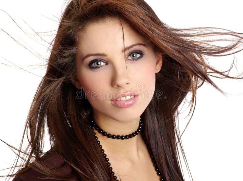 Belle giovani donne fotografie stock