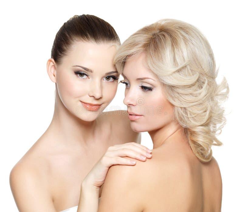 Belle giovani donne sexy immagini stock libere da diritti