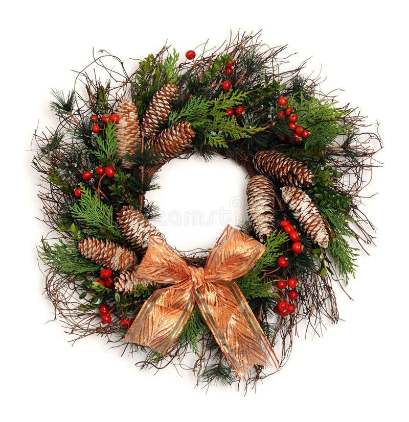Belle guirlande de Noël image libre de droits