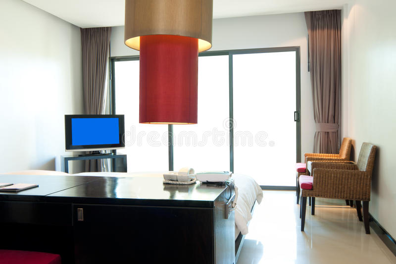 Belle hôtel-pièce images libres de droits