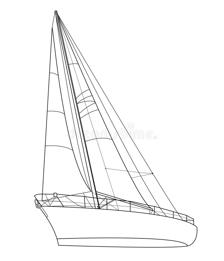 Download Belle ile en mer stock vector. Image of sailing, building - 6580117