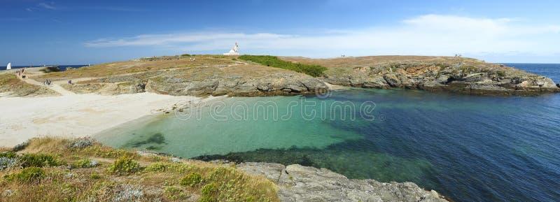 Belle ile en mer w Brittany zdjęcie stock