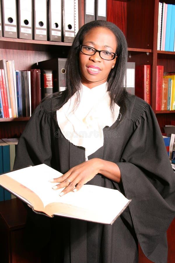 Belle informazioni professionali di ricerca dell'avvocato fotografie stock libere da diritti
