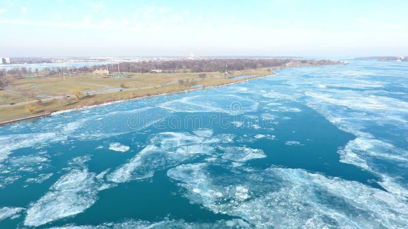 Belle Isle Artic Ice Splendor stock afbeeldingen