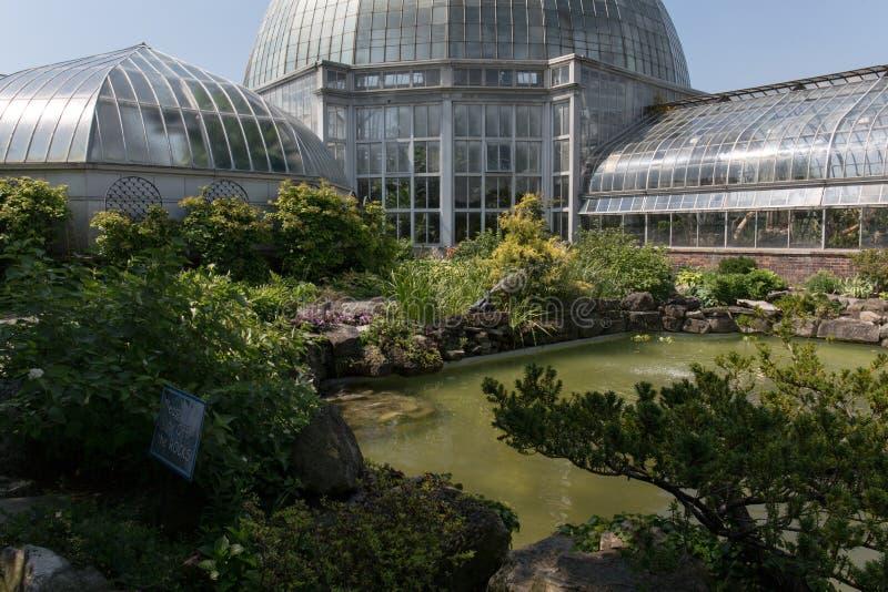 Belle Isle Conservatory royaltyfria foton