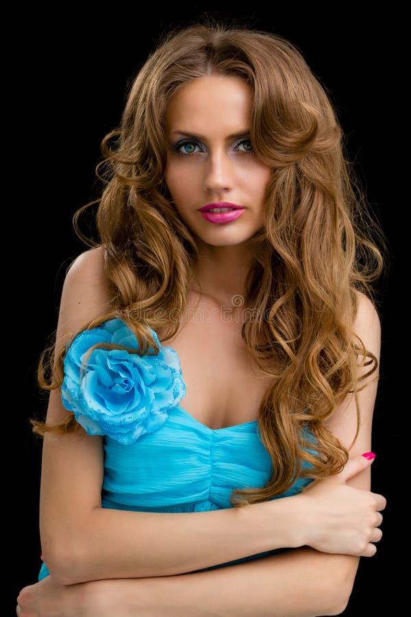 Belle jeune femme de coquette photos libres de droits