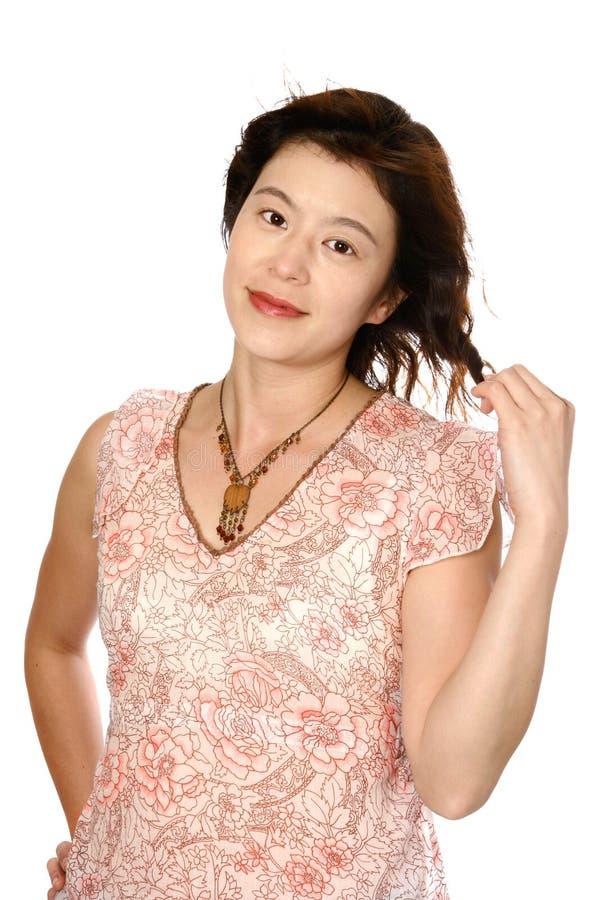 Belle jeune femme japonaise photos stock
