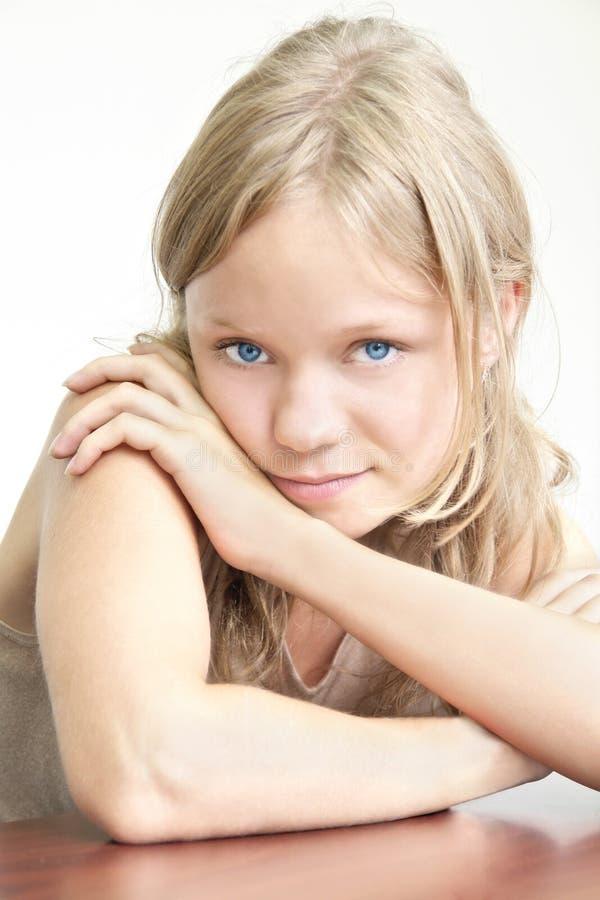 Belle jeune fille photos stock