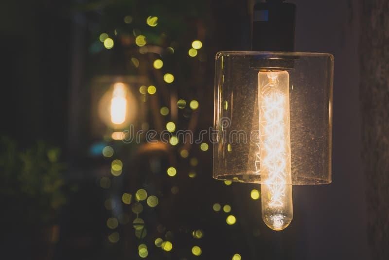 Belle lampe de vintage photo stock
