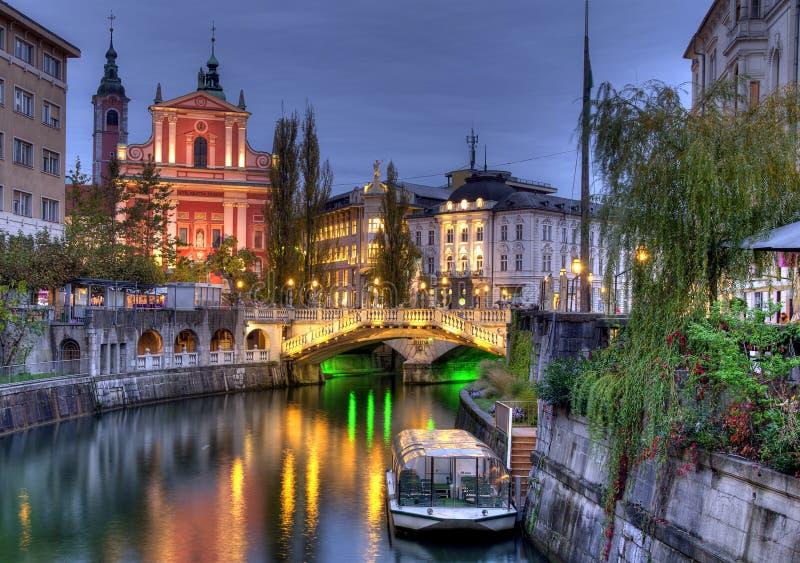Belle Ljubljana, Slovénie photo libre de droits