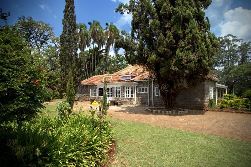 Belle maison au Kenya photographie stock