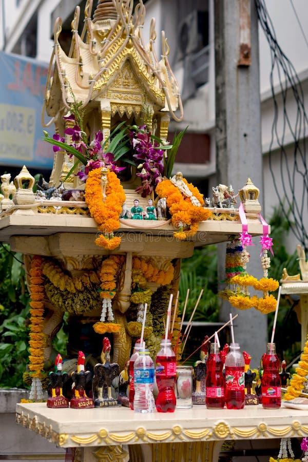 Belle maison d'esprit à Bangkok images stock