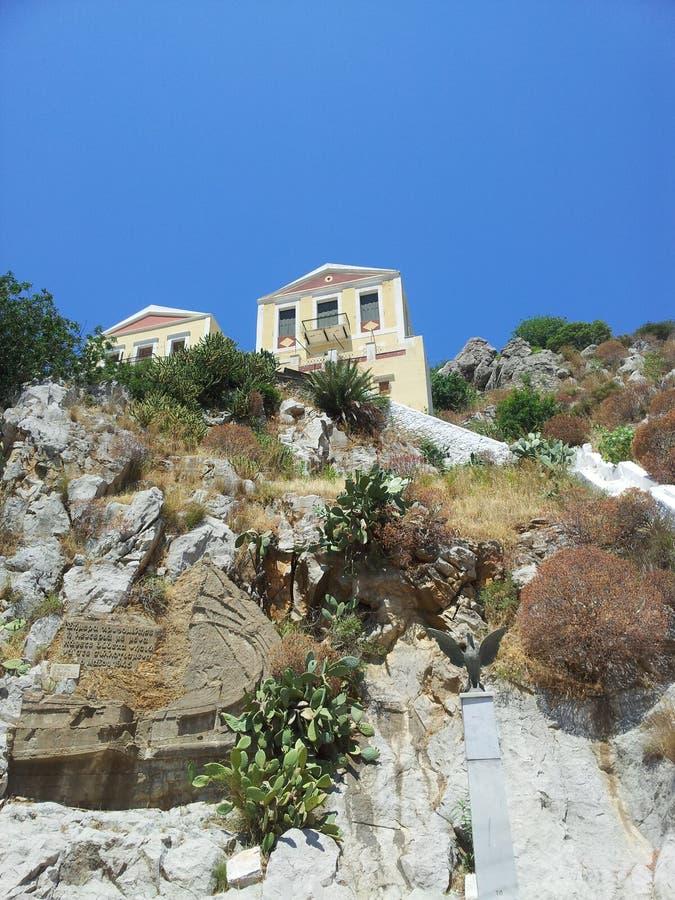 Belle maison dans la pierre photos stock