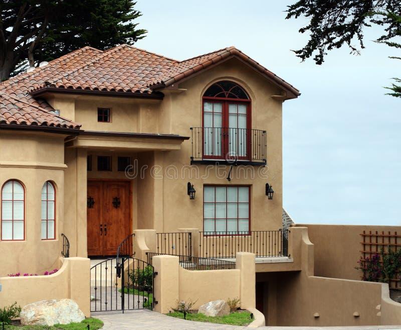 Belle maison de la Californie images libres de droits