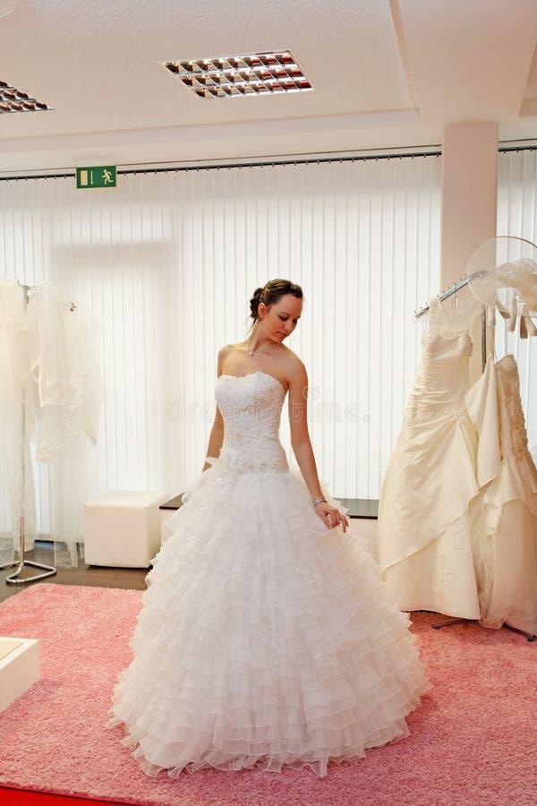 Belle mariée. photo stock
