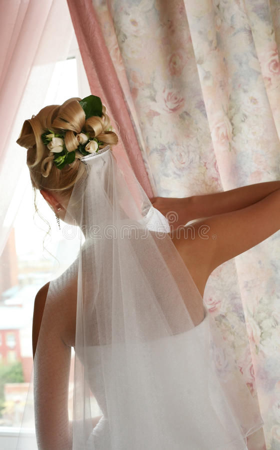 Belle mariée photo libre de droits