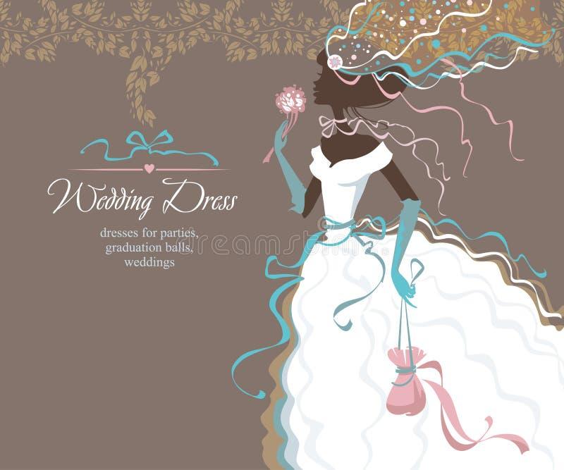 Download Belle mariée illustration stock. Illustration du vacances - 87703660