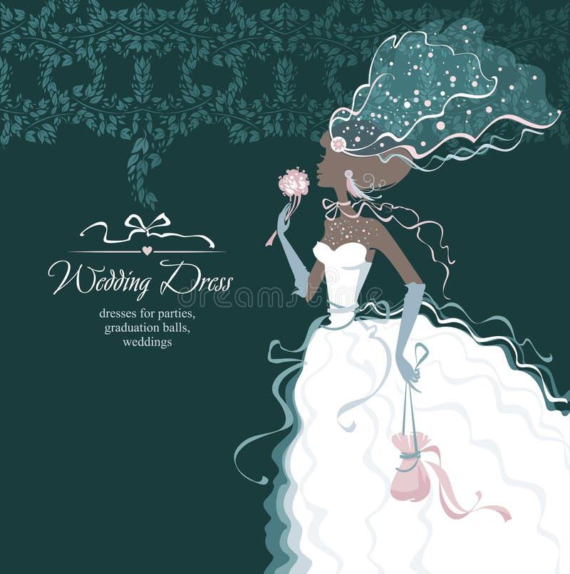 Download Belle mariée illustration stock. Illustration du modèle - 87705145