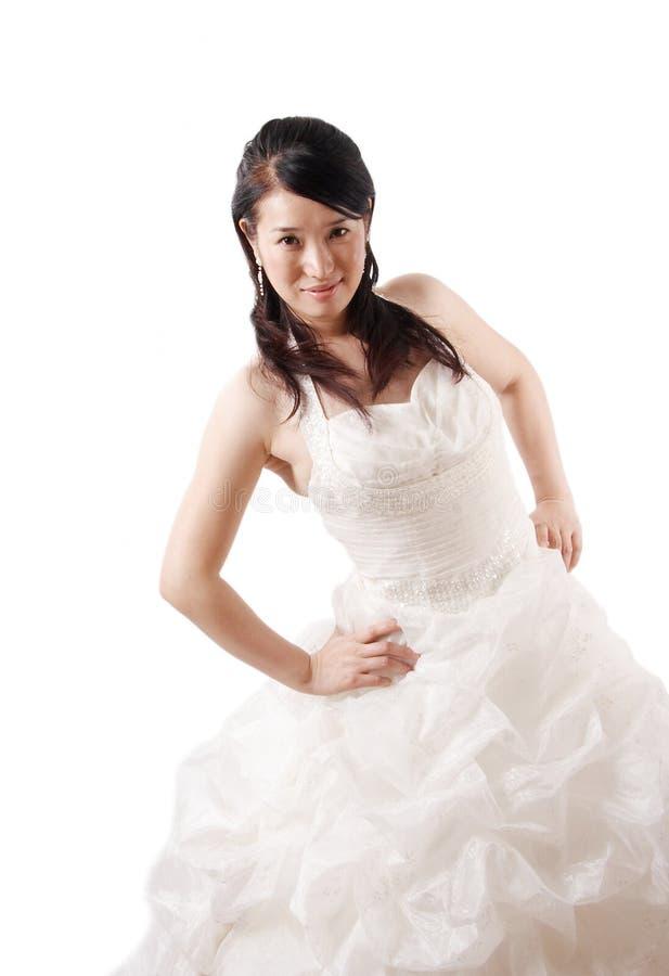 Belle mariée asiatique photo libre de droits