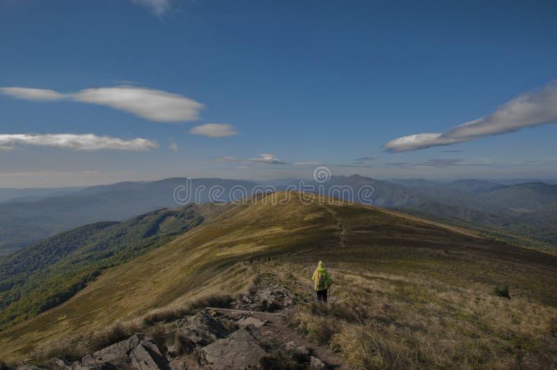 Belle montagne d'automne poland images stock