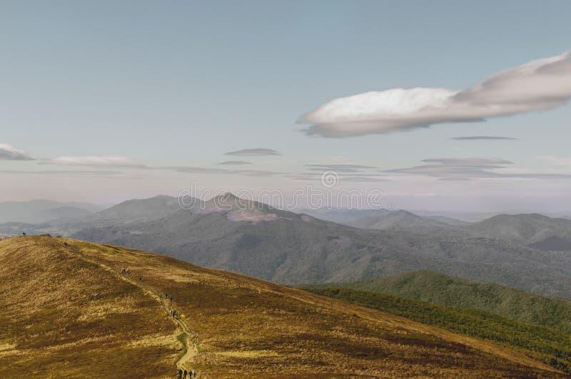 Belle montagne d'automne poland photo libre de droits