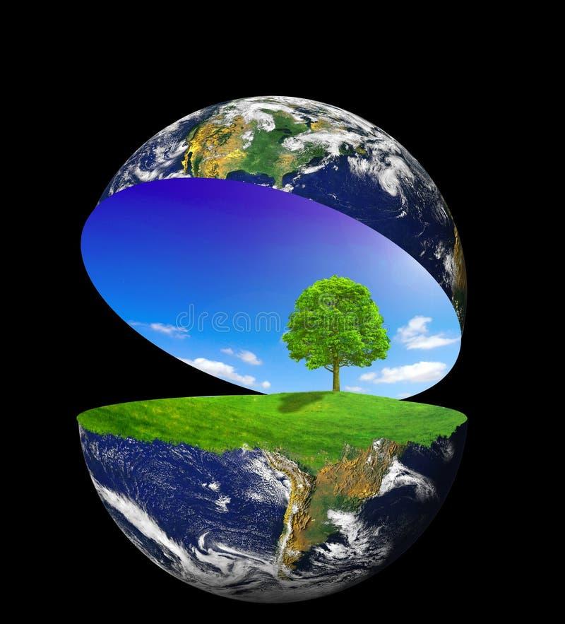 Belle nature illustration libre de droits
