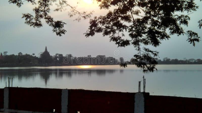 Belle nature de ville de Sivasagar photographie stock