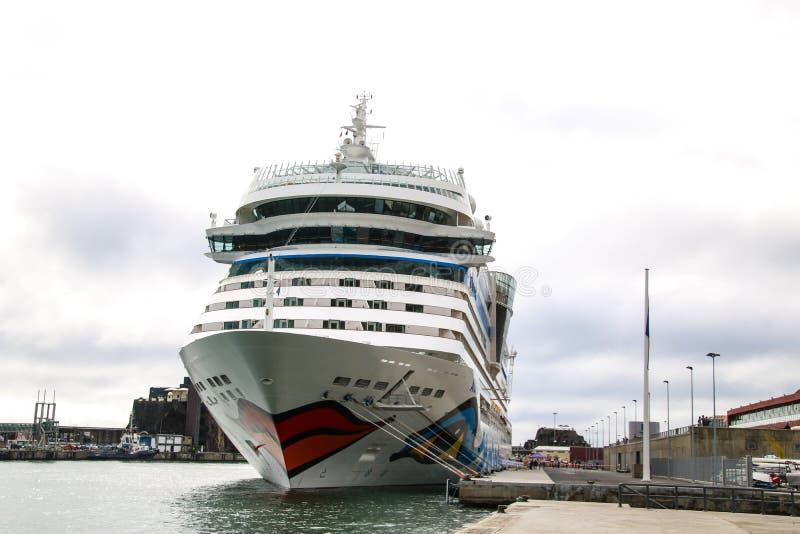 Belle navi e fodere di crociera immagini stock libere da diritti