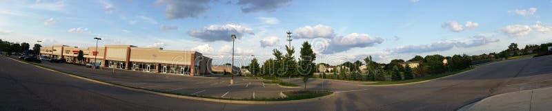 Belle nuvole scure fotografie stock libere da diritti