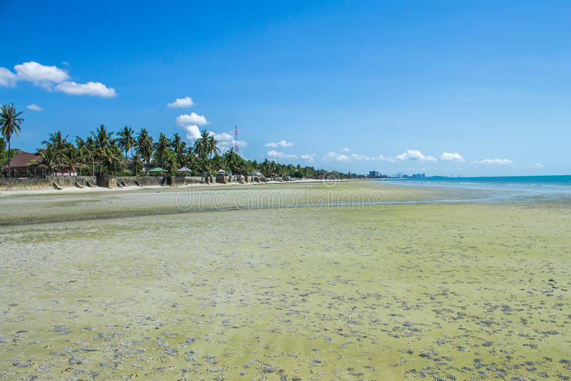 Belle plage photographie stock