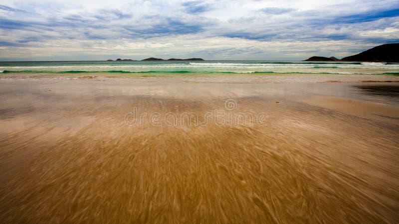 Belle plage en Australie photographie stock