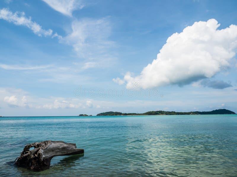 Belle plage et mer bleue claire à l'île Koh Adang d'Adang dans les sud de la Thaïlande - le Satun photo stock
