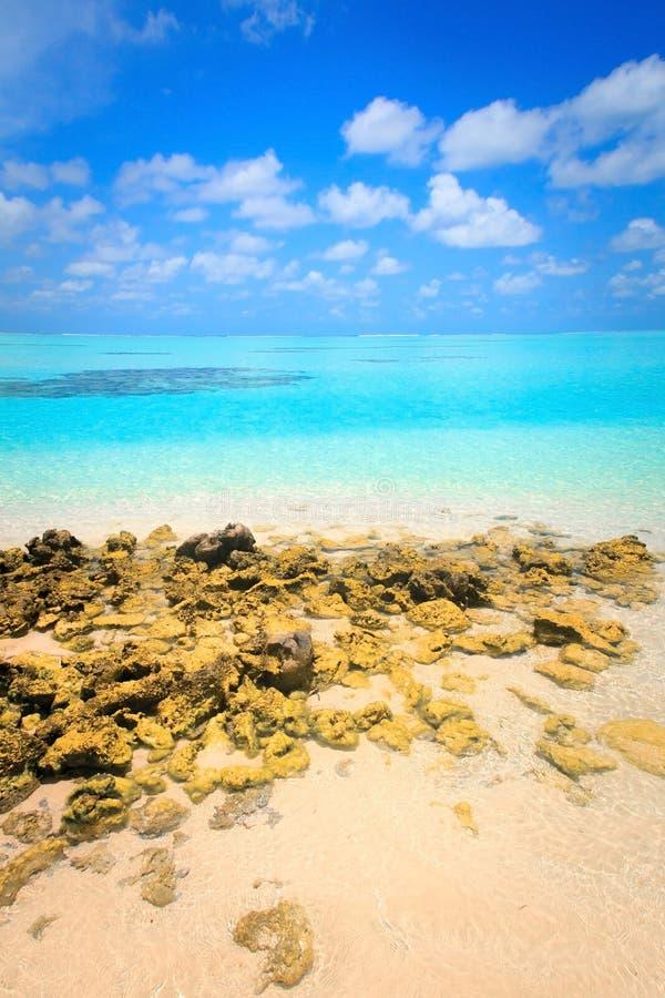 Belle plage tropicale photo libre de droits