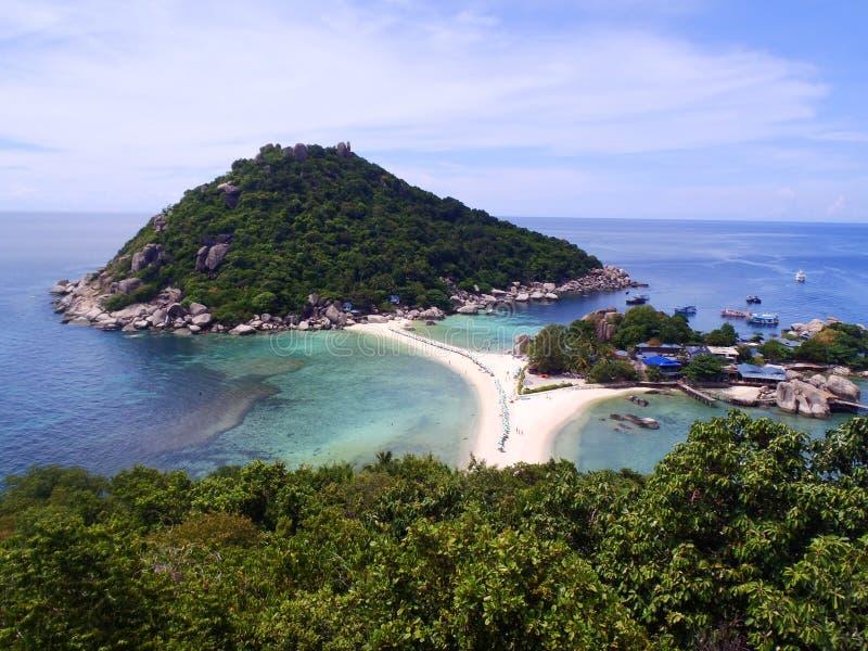 Belle plage tropicale image libre de droits