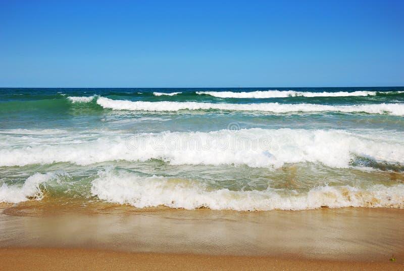 Belle plage vide image libre de droits