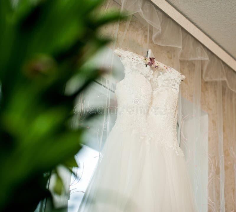 Belle robe de mariage photos libres de droits