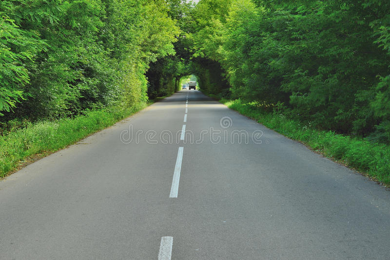 Belle route photo stock