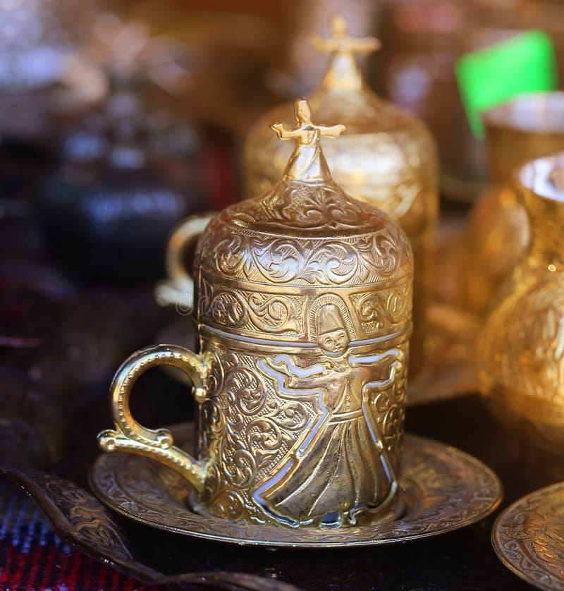 Belle tasse pour le thé images stock
